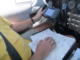 Navigation mit Karte und GPS
