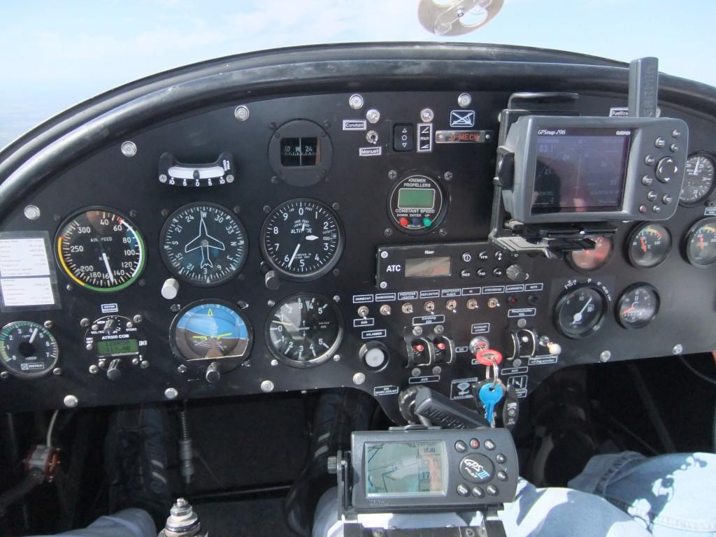 ein UL-cockpit